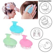 SILICONE HAIR MASSAGER BRUSH FOR HEALTHY SCALP SHOWER WASHING HAIR