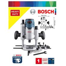 Bosch GOF 1600W Precision Plunge Router c/w Parallel Guide