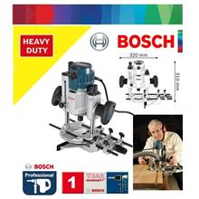 Bosch GOF 1600 CE Precision Plunge Router c/w Parallel Guide