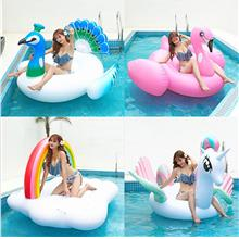 PVC inflatable flamingo unicorn float row outdoor shooting props