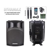 DYNAMAX PRO115 15 inch Active Portable Speaker System with Bluetooth