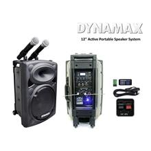 DYNAMAX PRO120 12 inch Active Portable Speaker System