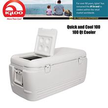IGLOO Quick and Cool 100 QT Cooler Box