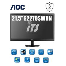 AOC 21.5' E2270SWHN TN Panel LED Monitor - HDMI Ready