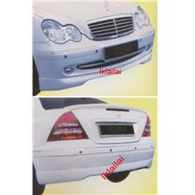 Mercedes Benz C-Class W203 '03-08 [FRONT & REAR SKIRT]