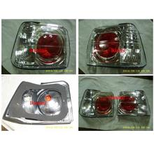 Proton Iswara '93 Red-Clear Crystal Tail Lamp [Price Per Pair] Taiwan