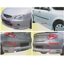 PROTON GEN 2/Persona PROMOTE Full Set Body Kit [Front+Side+Rear Skirt]