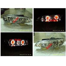 PEUGEOT 406 Head Lamp Double Projector With CCFL+ Colour Angel Eye