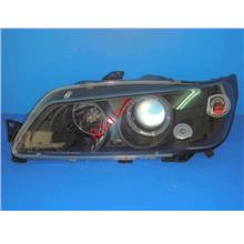 PEUGEOT 306 N3 '92-96 Projector Head Lamp [Dual LED Ring Black Housing