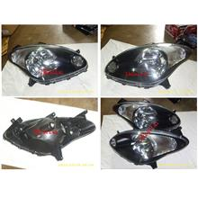 DEPO Perodua Myvi '05 Crystal Head lamp Black