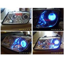 Proton Waja Projector Head Lamp with Angle Eye [Colour to be choose]