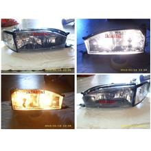 DEPO Toyota Camry 92-95 Crystal Head Lamp & Corner Lamp Option add DRL