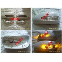 Toyota Wish `03-`09 Door Mirror Cover W/Light Painted [TY20-DM01-U]