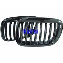 HOWELL BMW X5 E53 `00 Front Grille Black Chrome [M6 Look]