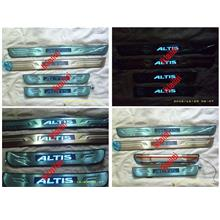 TOYOTA ALTIS Door / Side Sill Plate With LED Light [4pcs/set]
