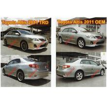 Toyota Altis 2011 TRD / OEM Body Kit Full Set