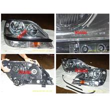 DEPO Toyota Harrier RX300 `98-02 MCU15 Head Lamp Crystal Black