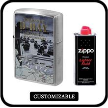 Zippo ZA-2-146A Asia Limited D-Day 75th Anniversary with Free Zippo Fluid  & N