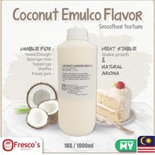 Emulco Smooth Texture (HALAL) Coconut Flavour 1KG 1000ml for Dessert