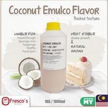 Emulco Thicker Texture (HALAL) Coconut Flavour 1KG 1000ml for Dessert