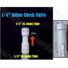 Water Filter Inline Check Valve Connector (ICVH)
