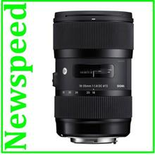 Canon Mount Sigma 18-35mm F1.8 DC HSM Art Lens (Import)