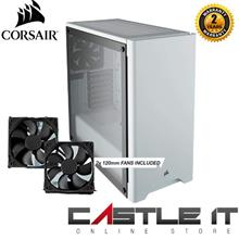 Corsair 275R Carbide Series Tempered Glass Mid Tower Gaming ATX Case-W