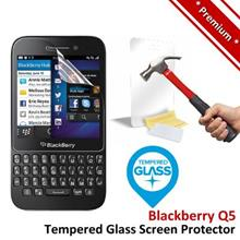 Premium Protection Blackberry Q5 Tempered Glass Screen Protector