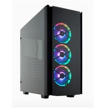Corsair 500D Obsidian Series RGB SE Premium Mid Tower TEMPERED GLASS C