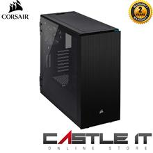 Corsair 678C Carbide Series Low Noise Tempered Glass ATX Case-Black (C