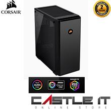 Corsair 175R RGB Tempered Glass Mid-Tower ATX Gaming Case-Black (CC-90