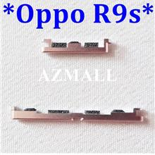 (3 Colors) On /Off Power Volume Side Buttons Set for Oppo R9s (5.5')