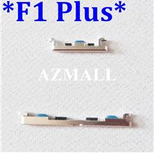 ORI On /Off Power Volume Side Buttons Set for Oppo F1 Plus /R9 ~GOLD