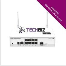 CRS109-8G-1S-2HnD-IN Mikrotik 8 Gigabit Ports Cloud Router Switch