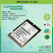 IBM 200GB 5.4Krpm 1.8' SATA SSD TX21B10200GB1IBM TX21B1