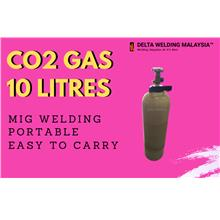 10 LITRES PORTABLE CO2 GAS MIG GMAW MALAYSIA SUPPLIER