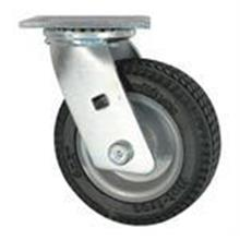 Rubber Industrial Rotating Caster / Wheel - 100mm