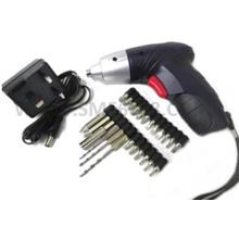 *Multifunction Electric^Cordless Universal Screwdriver Drill Tools Kit