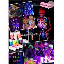 Face,Body Paint,Glow In The Dark,Arts,Design,Party,Night Events夜&#2421