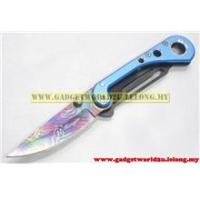 Foldable Design Stainless Steel Camping Knife/Blade (HJ-4081)