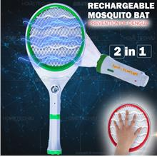 Electric Mosquito Fly Bugs Swatter Zapper Bat Racket, Pests Insects Co