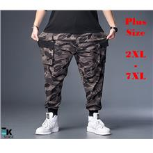 Plus Size Men Camouflage Joggers (Large Size 2XL-7XL) K71198