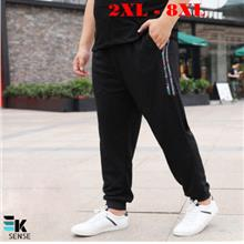 Extra Large Size Men Long Pants Joggers (Plus Size 2XL-8XL) YB108
