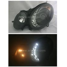 Mercedes E-Class W211 Projector Head Lamp w LED