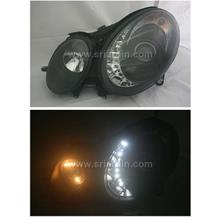 Mercedes E-Class W211 Head Lamp w LED