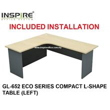 GL-652 ECO SERIES COMPACT L-SHAPE TABLE
