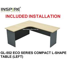 GL-552 ECO SERIES COMPACT L-SHAPE TABLE