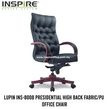 LUPIN INS-8008 Presidential High Back Fabric/PU Office Chair