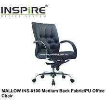 MALLOW INS-8100 Medium Back Fabric/PU Office Chair