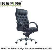 MALLOW INS-8000 High Back Fabric/PU Office Chair